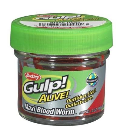 Berkley Sztuczna Ochotka Gulp! Alive Bloodworms Large