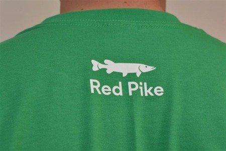 Koszulka wędkarska Red Pike zielona