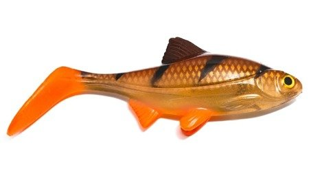 Ripper Ola Lures Guma Hooligan Roach 21cm Transparent Perch