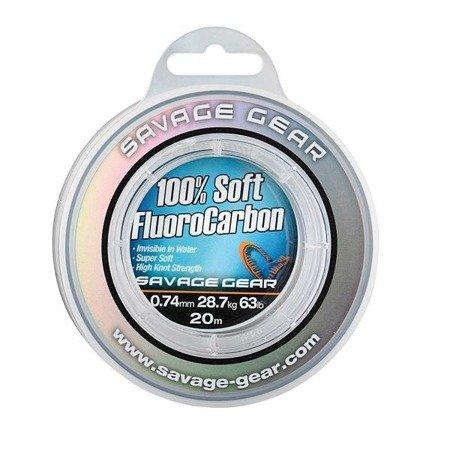 Savage Gear Fluorocarbon Soft 0.92mm 15m 40.5kg