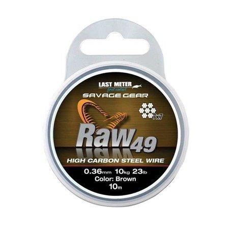 Savage Gear Linka Do Przyponow I Dozbrojek Raw49 0,45mm 16kg