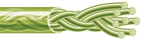 Spiderwire Plecionka Stealth Smooth 8 Yellow 150m 4.535kg 0,12mm