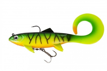 Swimbait Effzett Pike Seducer Curltail 23cm 130g - Firetiger