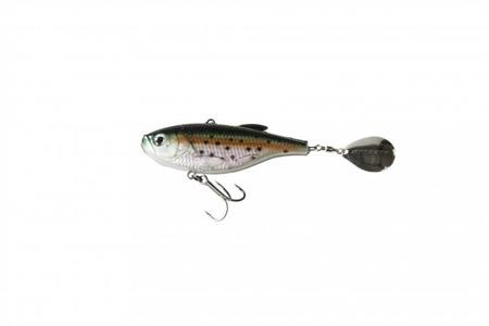 Wirujący Ogonek Effzett Crazy Vibe 9cm 41g - Rainbow Trout